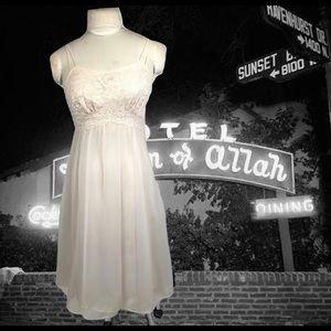 Vintage Chiffon Negligee Vanity Fair